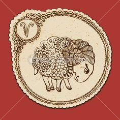 牡羊座のイラスト アイデア まとめ