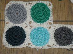 Crochet tutorial. I'm making this for the baby's room.