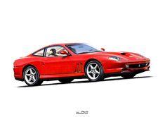 Original Automobile Drawing by Lukasz Jan Drygiel Ferrari Rouge, Ferrari Car, Ballpoint Pen Drawing, Car Drawings, Realism Art, Photorealism, Car Ins, Buy Art, Paper Art