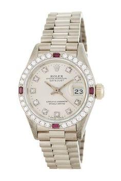 Vintage Rolex Women's Datejust President Diamond Automatic Watch