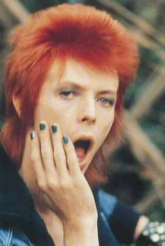 Bowie's nails