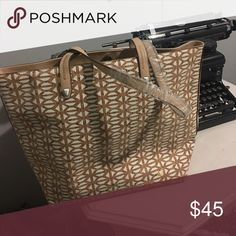 Stella and Dot cork bag Brand new still has plastic on handles and paper inside bag. Nice size bag Stella & Dot Bags Totes