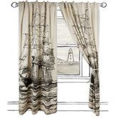 Found it at AllModern - Maritime Window Curtain