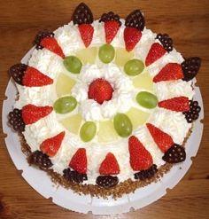 Recept klassieke slagroomtaart Deserts, Sweets, Cookies, Google, Biscuits, Fruit, Crack Crackers, Crack Crackers, Gummi Candy