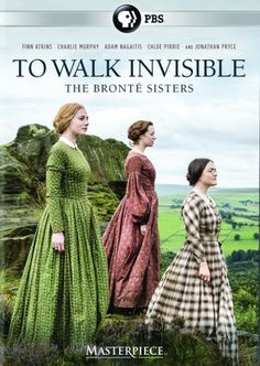 TO WALK INVISIBLE.   Charlotte, Emily and Anne Bronte face a bleak future, with their father half-blind, and troubled brother Branwell in decline. As their situation worsens, Charlotte sees that writing could offer a way out. This is the story of the sisters' great novels and their extraordinary battle for recognition.   https://ccsp.ent.sirsi.net/client/en_US/hppl/search/results?qu=walk+invisible+bronte&te=&lm=HPLIBRARY&dt=list