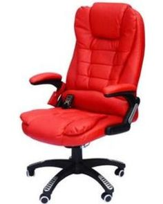 HomCom Executive Ergonomic PU Leather Heated Vibrating Massage Office Chair -...The HomCom ergonomically designed Executive Office Massage Chairs attempt to bring in traditional style and ergonomically sound features, while also including massage and heating features to sooth aching muscles. This chair comes with six different massaging settings that range from healing back support to leg circulation and comfort. Increased padding make the chair a breeze to sit in for full work days, and the…