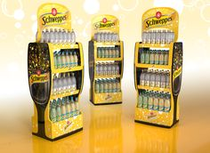 "查看此 @Behance 项目:""SCHWEPPES DISPLAY""https://www.behance.net/gallery/57838483/SCHWEPPES-DISPLAY"