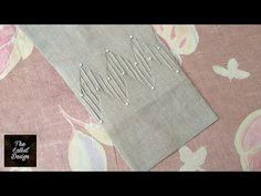 Stylish trouser/poncha design making with pintex | The Latest Design - YouTube
