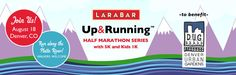 Lara Bar Up and Running race series - Looks like a great new half to check out!