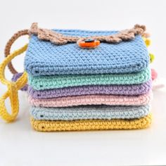 crochet purses for girls