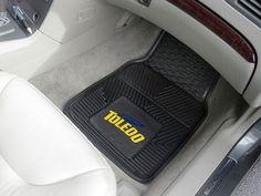 Vinyl Car Mats 2-pc - University of Toledo
