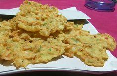 Tortillitas de camarones de la provincia de Cádiz