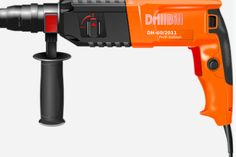 Do you want to know how to drill into concrete wall? You need to have a hammer, goggles, pencil, masking tape and others things to start making holes. It is easy to drill holes on new concrete that the older one. Drilling Machine, Hammer Drill, Drill Bit, Home Inc, Garage House, Concrete Wall, Cement, Cordless Drill, Home Repairs