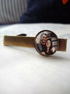 #Personalized #Wedding Image Tie Clips by jerseymaids | Hatch.co
