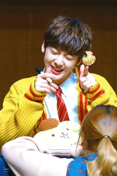 sanha is too precious for this world