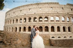 Paris Mountain Photography Blog: Rome, Italy Wedding | Vatican | Colleseum | Destination Wedding Photographer