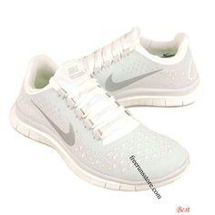 00df0d00cb380 Nike Free 2013 3.0 V4 White Platinum Silver 511495 001 Nike Shox
