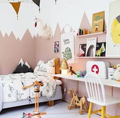 little girls bedroom // kids room design