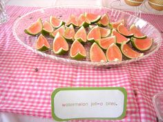Sarah's Never-Ending Projects: Sienna's Watermelon 2nd Birthday Party!