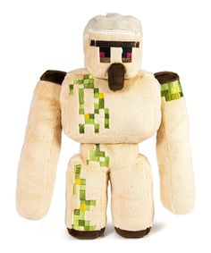 Look at this Minecraft Minecraft Large Plush Iron Golem on #zulily today!