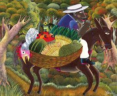 Horse with Fruits by Ivonaldo Veloso de Melo