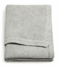 Grey baby blanket from H GB