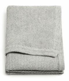 half wool + half cotton baby blanket