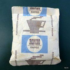Rondo-Kaffee war unglaublich teuer. Ca. 8 Mark für 125 g bei einem Durchschnittsgehalt von 400 - 500 Mark.