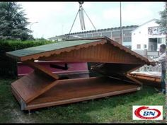 Wooden House foldable by BN Performance Rides