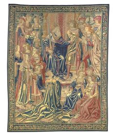 Franco-Flemish Tapestry early 16th C.-