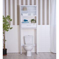 Mesa de ba o sobre inodoro topkit decoracion - Mueble para encima del inodoro ...