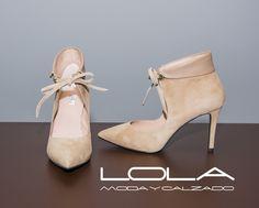 Este otoño, más elegante que nunca. Pincha este enlace para comprar tus salones en nuestra tienda on line: http://lolamodaycalzado.es/…/842-salon-en-ante-beige-de-ezz…