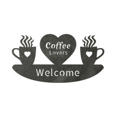 This coffee design will be sure to make your guests smile! Coffee Logo, Coffee Cafe, Coffee Humor, Coffee Quotes, My Coffee, Coffee Drinks, Coffee Break, Morning Coffee, Coffee Bar Station