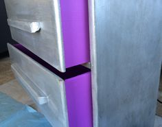 Pantone's Radiant Orchid with aged silver - by Sweet Parsley Home
