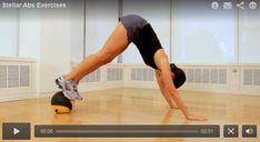 Stellar Abs Exercises: Add these four core-strengthening moves to your workout routine!