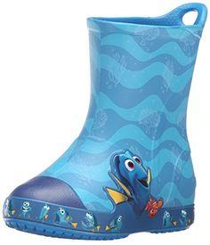 5934f0e2ad3e1 crocs Bump It Finding Dory Rain Boot (Toddler Little Kid)