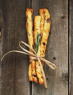 Aged Cheddar and Cranberry Bread Sticks - perfect with a glass of wine or as a gift with a bottle of wine.