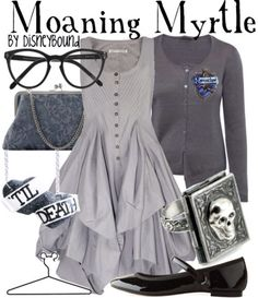 Disneybound: Moaning myrtle