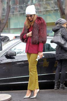 Street-Styles der Mailänder Modewoche: Alla Milanese - myself