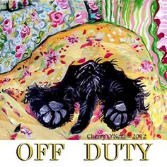 Scottish Terrier Off Duty Gel Mousepad