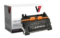 V7 V764A Laser Toner Cartrifge For HP Printers Yield Up To 10000 Pages Replaces CC364A