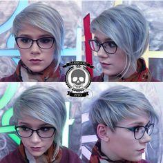 Trägst Du eine Brille? 10 Kurzhaarfrisuren für Frauen die eine Brille tragen