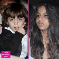 Shah Rukh Khan's kids AbRam and Suhana return to the city from Dilwale sets – view HQ pics! #ShahRukhKhan  #Abram  #Suhana