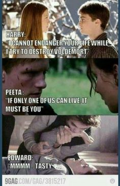 Twilight will always be worse than The hunger games and Harry Potter
