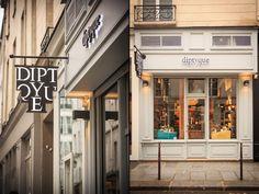 diptyque store by centdegrés, Paris   France cosmetics