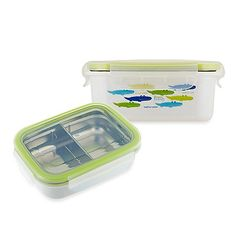 The Keepin' Fresh™ stainless steel LunchBox is a smart food storage solution for home or on-the-go. It's designed to keep foods cold or warm for up to 2 times longer than standard containers, thanks to its double-lined design.
