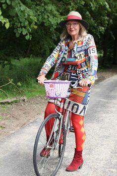 Joke and her original Pinarelli - MisjaB.nl