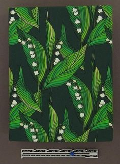 LILY of the VALLEY organic cotton jersey