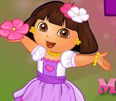 Dora makeover games.