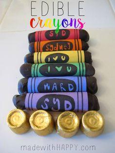 Edible Crayons - Rai
